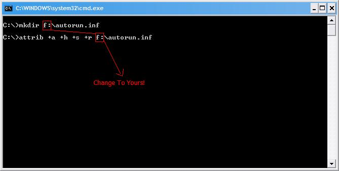 Prevent Your USB Autorun.inf File From Virus Attacks By Archiving!