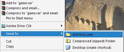 """[How to] Add Your Favorite Folder / Drive Into The """"Send To"""" List In Windows Explorer!"""