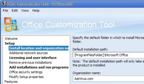 [UPDATE] Customize your Microsoft Office (2007/2010) Installation Package!