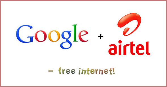 Google provides Free Internet access for Airtel users in India!