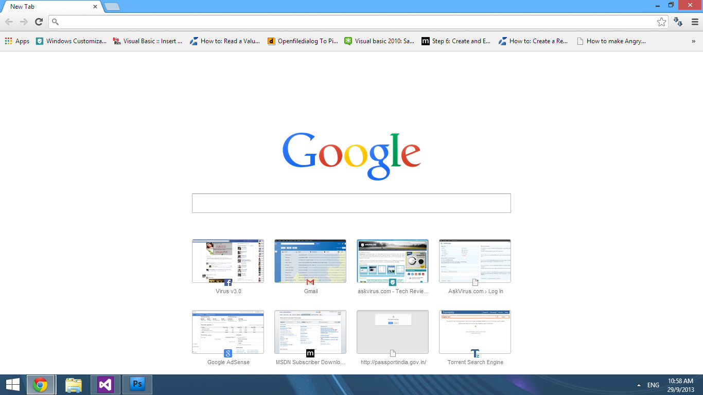 [How to] Get back old New Tab page in Google Chrome latest version in Windows!