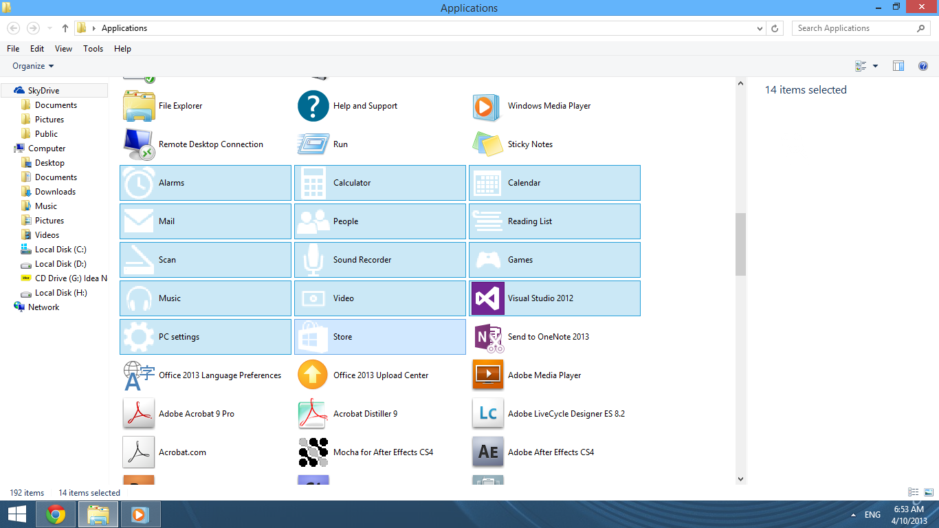 Launch Metro Apps directly form Desktop in Windows 8 and 8.1!