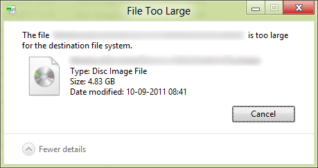 [How to] Copy Files larger than 4GB to a Pen drive / Memory Card!