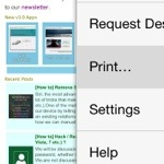 [How to] Save a page as PDF in Google Chrome for iOS ?