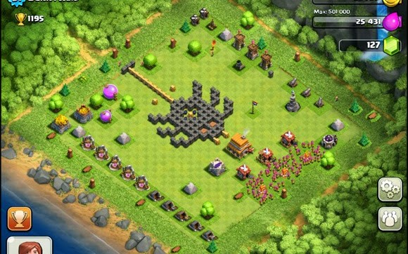 best ever 5 clash of clans creative funny village base layouts
